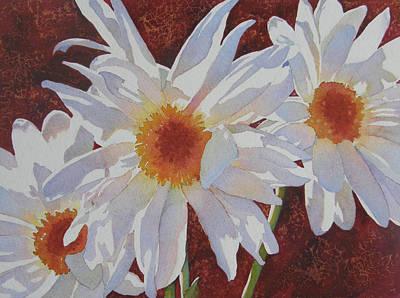 Daisy Dazzle Art Print