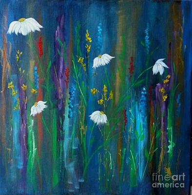 Painting - Daisy Delight by Karen Day-Vath