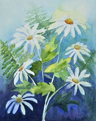 Daisy Delight  Art Print by Sandy Fisher