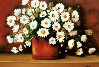 Painting - Daisy Doodle  Sold by Susan Dehlinger
