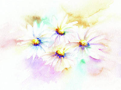 Mixed Media - Daisy by Elizabeth Lock