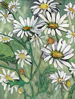 Painting - Daisy Field by Cynthia Matthews