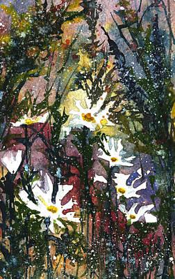 Painting - Daisy Field by Garima Srivastava