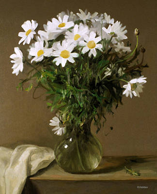 Painting - Daisy Greens by Robert Holden