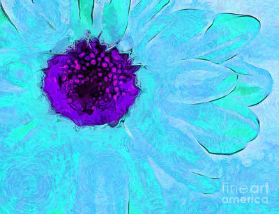 Daisy In Disguise Art Print by Krissy Katsimbras