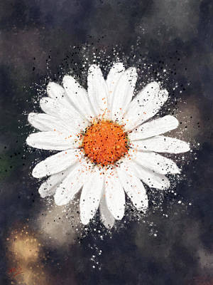Painting - Daisy by James Shepherd