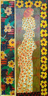 Painting - Daisy Kimono by Leslie Marcus