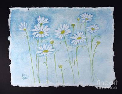 Painting - Daisy Love by Barrie Stark