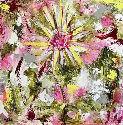 Daisies On Parade No. 1 Art Print