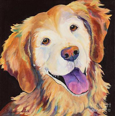 Daisy Art Print by Pat Saunders-White