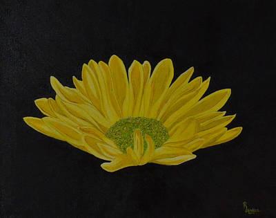 Daisy Art Print by Roberta Landers