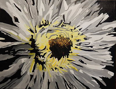 Painting - Daisy Shadows by Betty-Anne McDonald