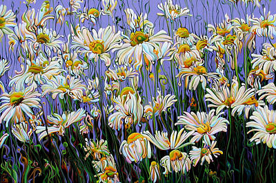 Painting - Daisy Spirit Sundance by Amy Ferrari
