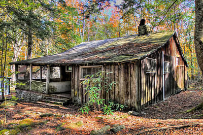 Abandoned Elkmont Wall Art - Photograph - Daisy Town Deluxe by Bryan Nowak