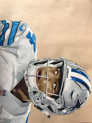 Prescott Drawing - Dak by Greg Schmidt