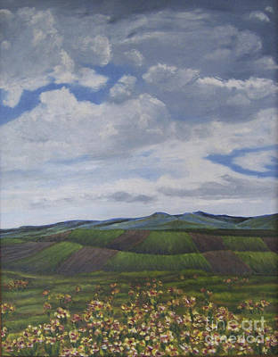 Mixed Media - Dakota Hills  by Jill Annette Johnson