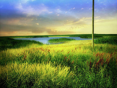 Photograph - Dakota Prairie 5 by William Tanata