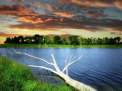 Photograph - Dakota Small Lake 4 by William Tanata
