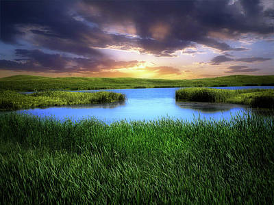Photograph - Dakota Wetlands 12 by William Tanata