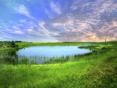 Photograph - Dakota Wetlands 9 by William Tanata