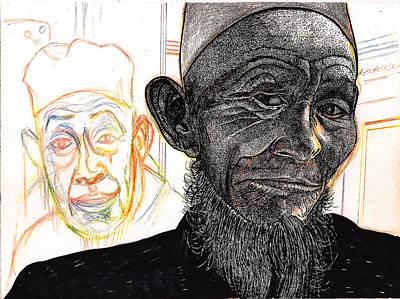Dalai Happily Happened Upon Art Print