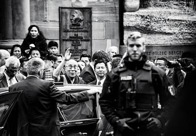 Frankfurt Photograph - Dalai Lama by Gerard Jonkman