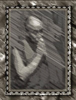 Digital Art - Dalai Lama In Contemplation by Mario Carini