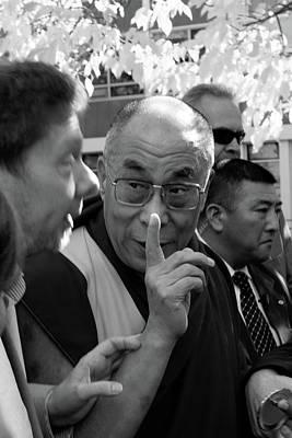 Photograph - Dalai Lama Viii by Michael Thibault