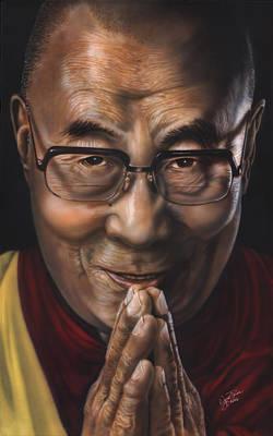 Painting - Dalai Lama by Wayne Pruse