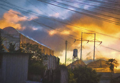 Dalat Sunset Art Print by Claude LeTien