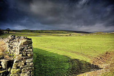 Yorkshire Photograph - Dales Storm Clouds by Nichola Denny