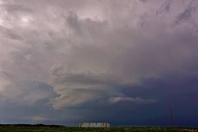 Photograph - Dalhart Supercell by Ed Sweeney