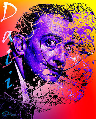 Digital Art - Dali by Hay Rouleaux