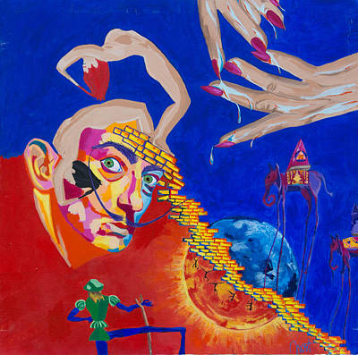 Painting - Dali by Janice Westfall