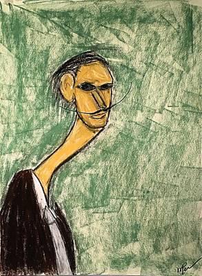 Pastel - Dali by Mario Perron