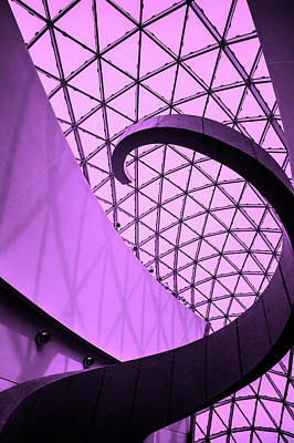 Photograph - Dali Museum Staircase by Judith Barath