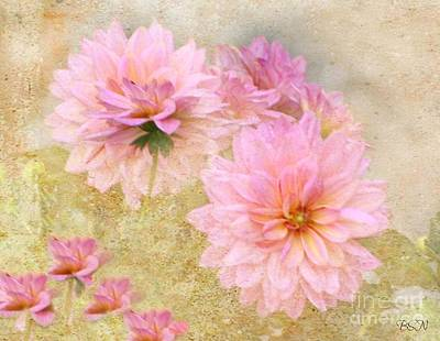 Photograph - Dahlia Days by Barbara S Nickerson
