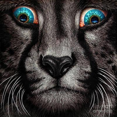 Dali's Cheetah Original