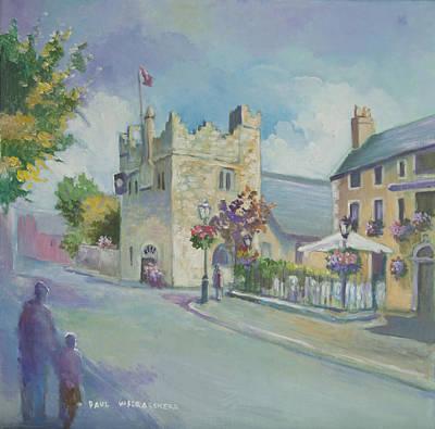 Painting - Dalkey Castle by Paul Weerasekera