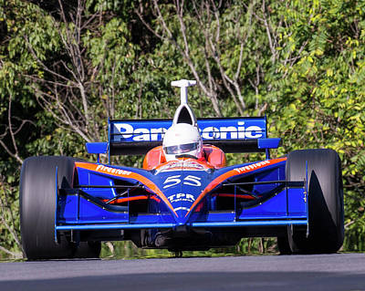 Photograph - Dallara Panther #55 by Alan Raasch
