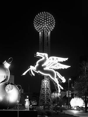 Photograph - Dallas Pegasus Reunion 121517 by Rospotte Photography