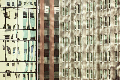 Photograph - Dallas Architecture Reflections  #1 by Yvette Van Teeffelen