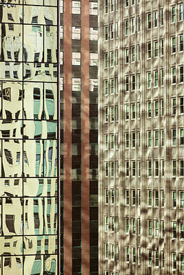 Photograph - Dallas Architecture Reflections  #2 by Yvette Van Teeffelen