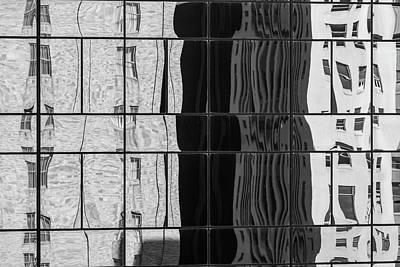 Photograph - Dallas Architecture Reflections  #3 by Yvette Van Teeffelen
