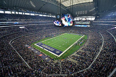 Photograph - Dallas Cowboys Att Stadium by Mark Whitt