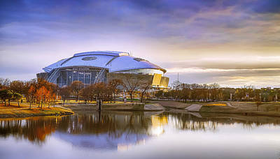 Photograph - Dallas Cowboys Stadium Arlington Texas by Robert Bellomy