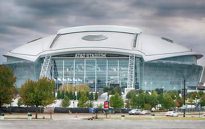 Photograph - Dallas Cowboys Stadium 111417 by Rospotte Photography