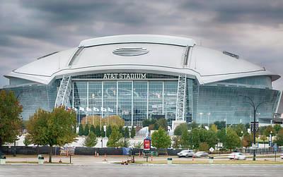 Photograph - Dallas Cowboys Stadium 111417 by Rospotte Photography