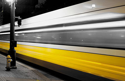 Photograph - Dallas Dart Downtown  by Rospotte Photography