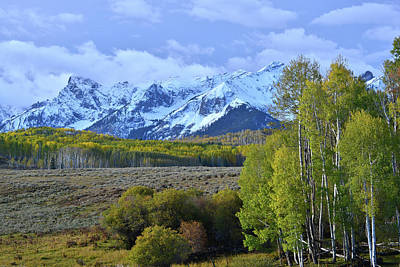 Photograph - Dallas Divide View Of Sneffels Range by Ray Mathis